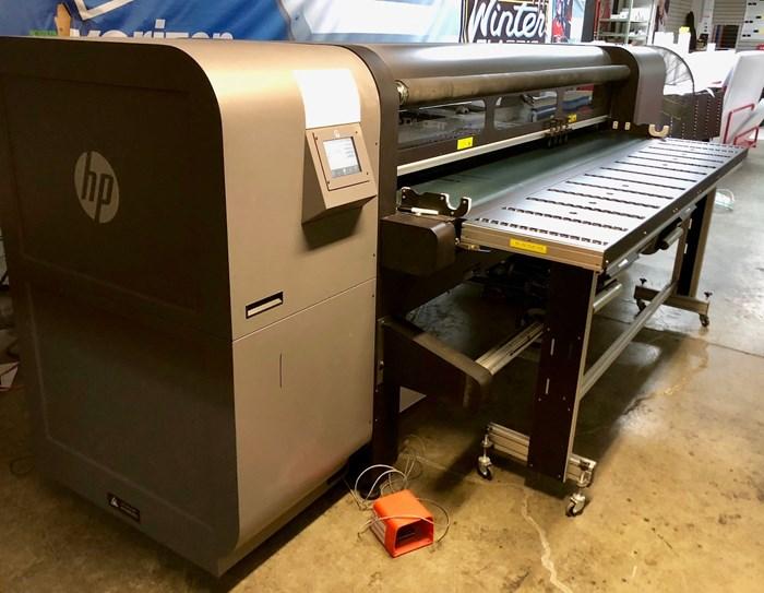 HP Scitex FB750 Flatbed Digital Printer