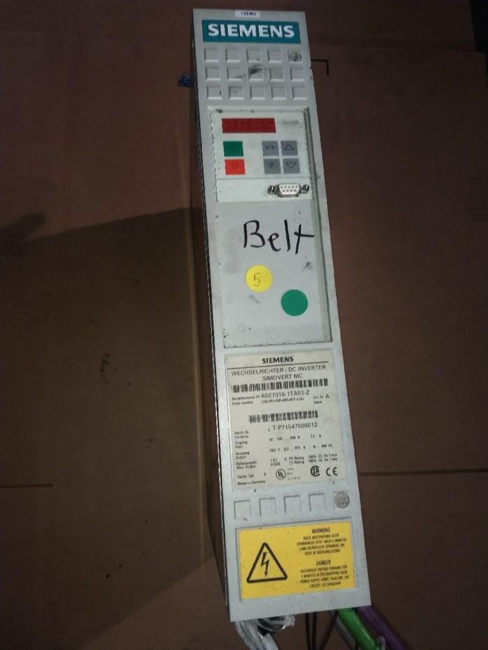 Siemens Master Drive 6SE7016-1TA51-Z