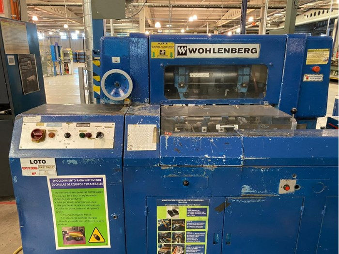 Wohlenberg 44FM50 Three Knife Trimmer (2)