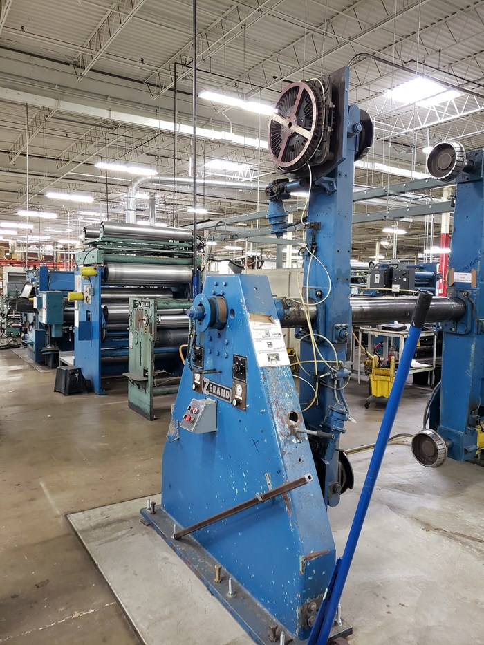 Zerand Web Fed Die Cutting Line