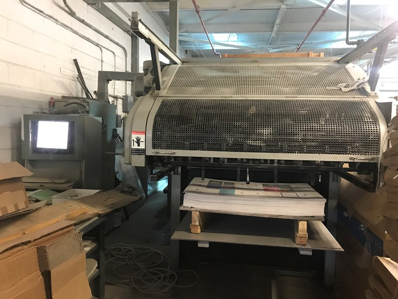 Bobst SP 1260 E Automatic Flatbed Die Cutter