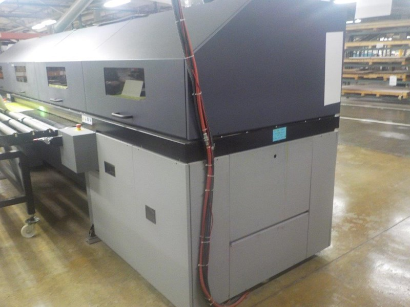 2008 Durst RHO 800 (5) Unit (CMYK + White) UV Printer