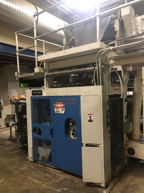 Harris Heidelberg 4DS Combination Folder
