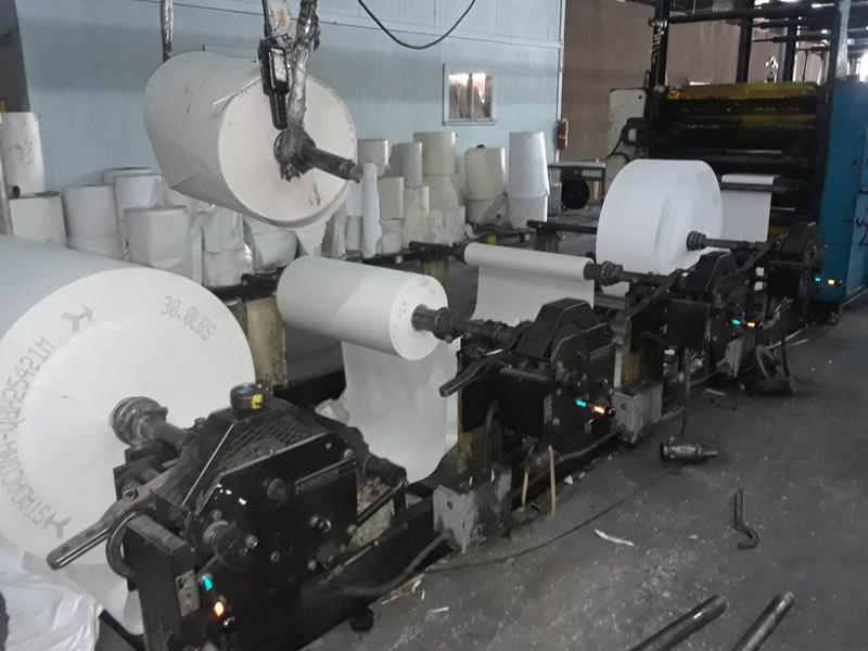 Harris V15D 8 Unit Web Press