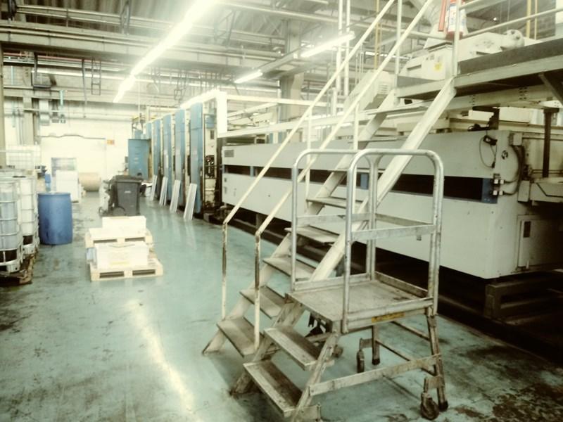 Harris M1000A 5 Unit Web Press