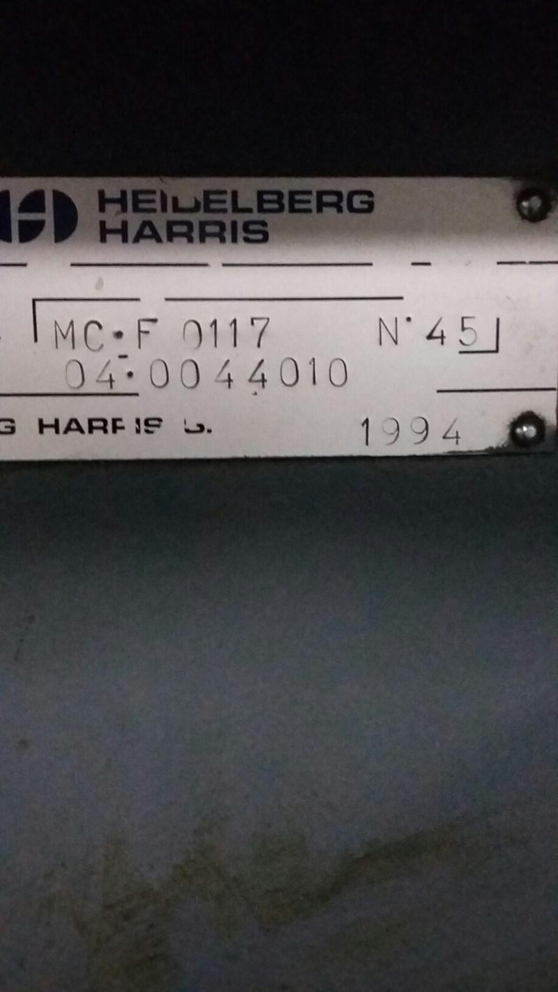 M110C Harris Heidelberg M110C Units