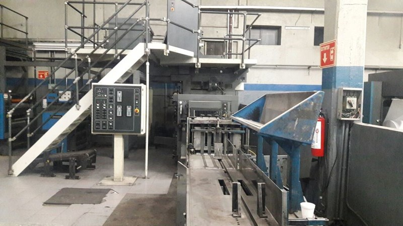 Heidelberg-Harris® M130 (4) Unit (1) Web Press