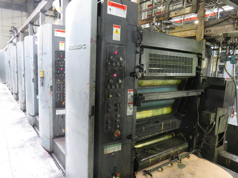 Harris M130 (8) Unit (2) Web Press