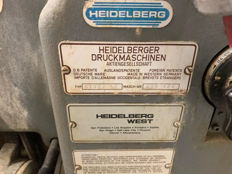 Heidelberg GTOZ 52-2