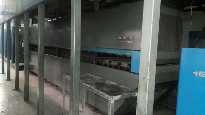 Heidelberg-Harris M130 (4) Unit (1) Web Press