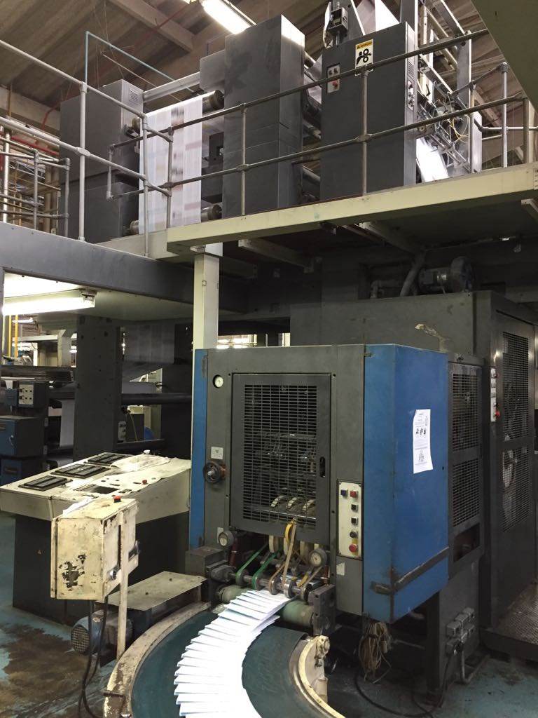Duplexed M600, 2 Presses Consisting of 8 Total Units