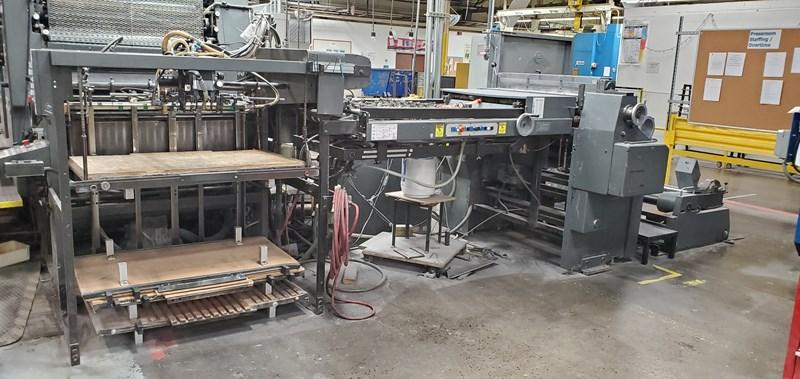 Heidelberg Speedmaster 102S (6) Color Press