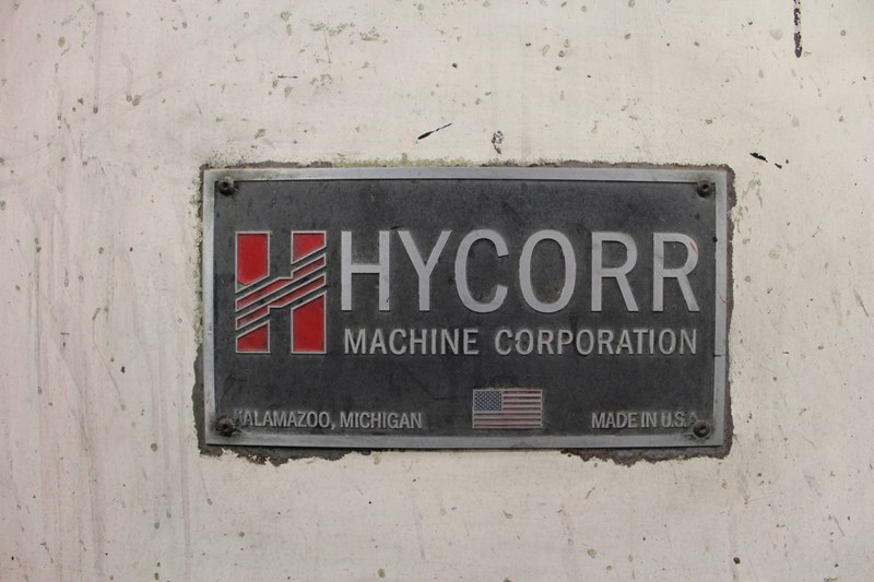 """Hycorr 66"""" x 115"""" 2 Color Rotary Die Cutter"""