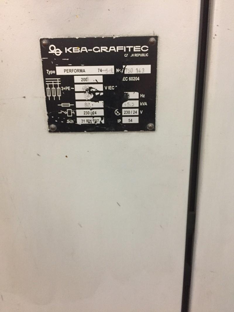 KBA® Performa 74-5+L