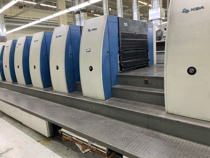 KBA Rapida 105-10+LSW5 CX (10) Color UV Press