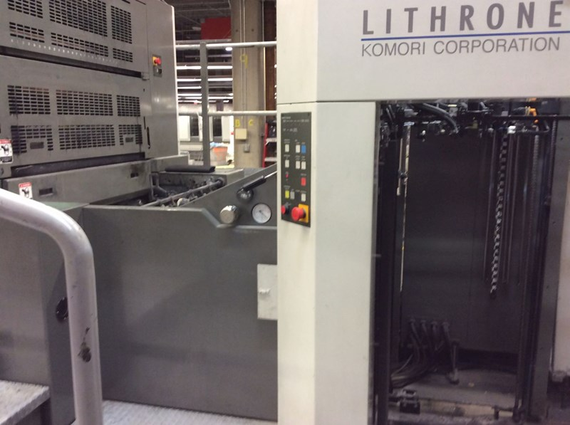 Komori LS1040P+CX (10 Color Perfector with Coater)