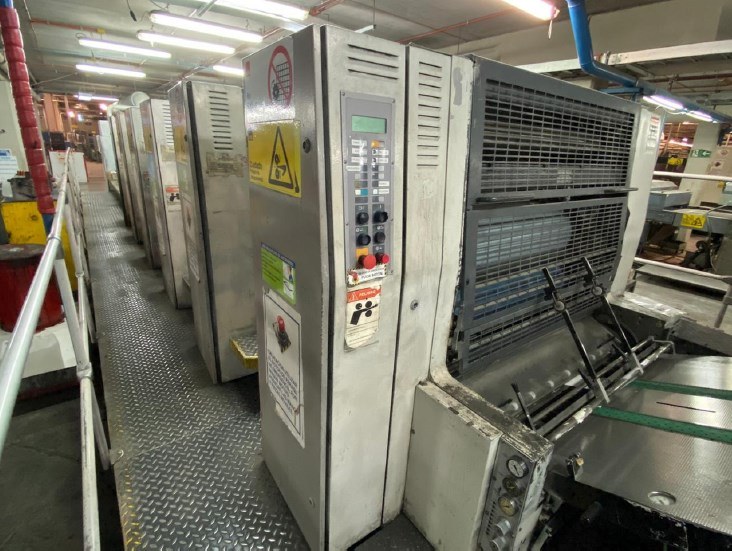 Manroland 706 LV (6) Color Press