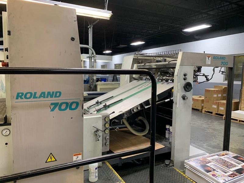 Manroland R706+L (6) Color Press