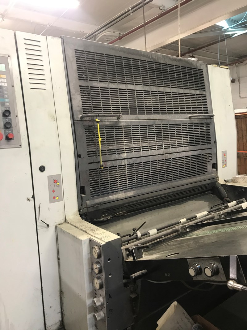 Man Roland R708L Sheetfed Press