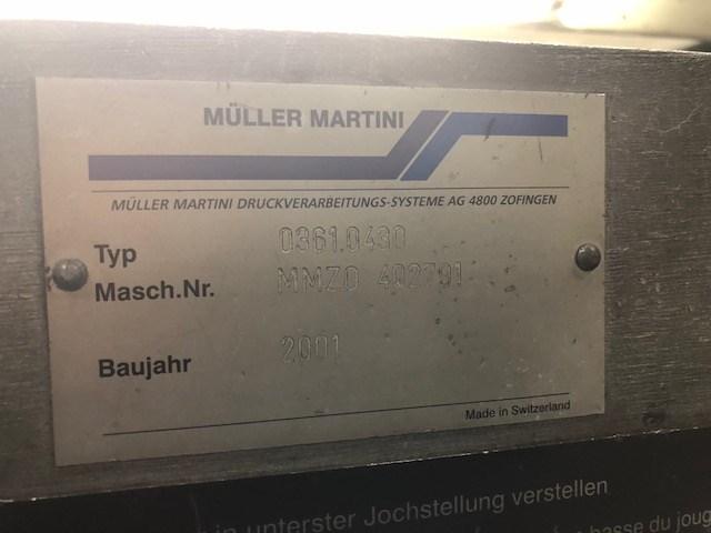 Muller Martini Bravo S 6 Pocket Saddle Stitcher