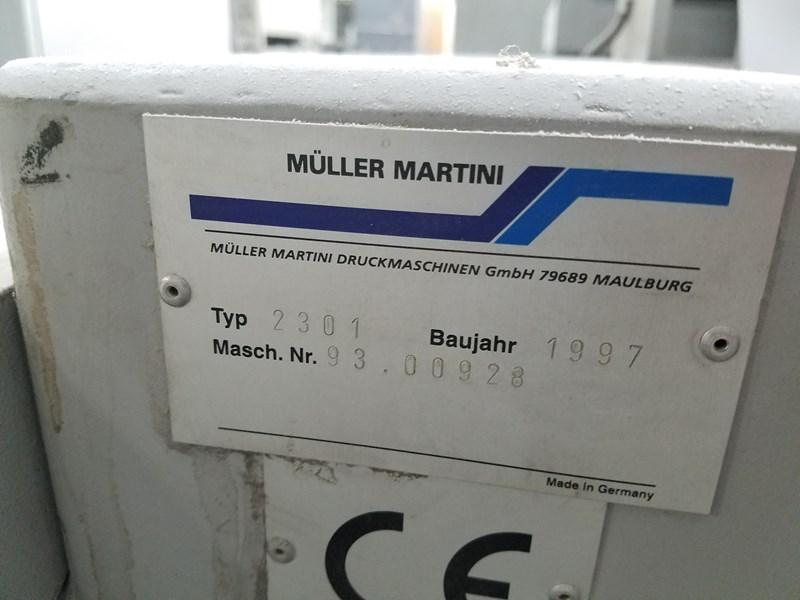 Muller Martini Model Concept Half-Web Press