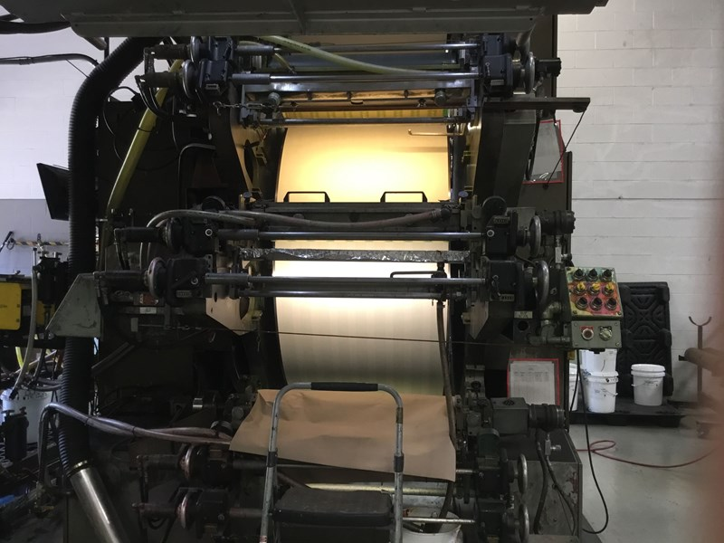 PCMC CI Printing Press 6 Color