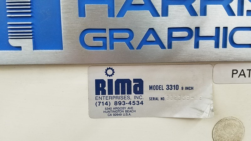 "RIMA 3310 9"" Stacker"
