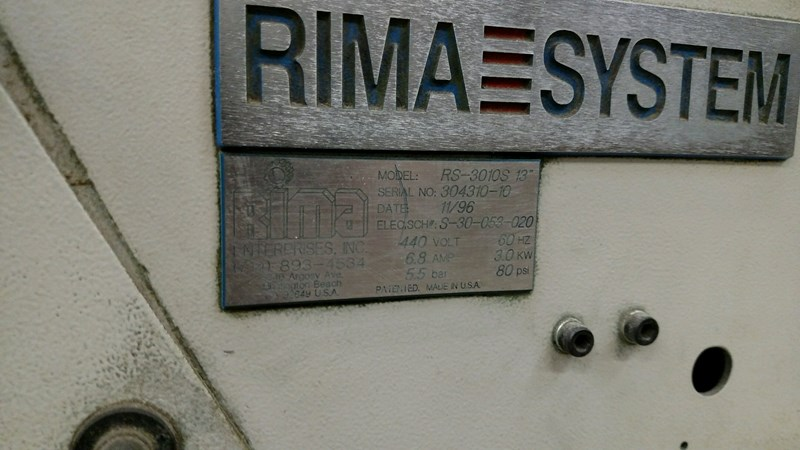 "Rima®  RS-3010S 13"" Compensating Stacker"