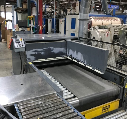 S & S ZLR 2 Color Flexo Folder Gluer