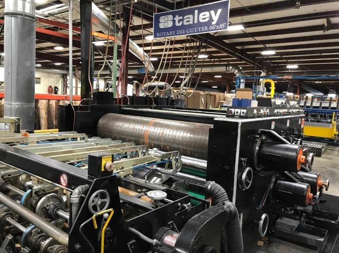 Staley 2 Color Rotary Die Cutter