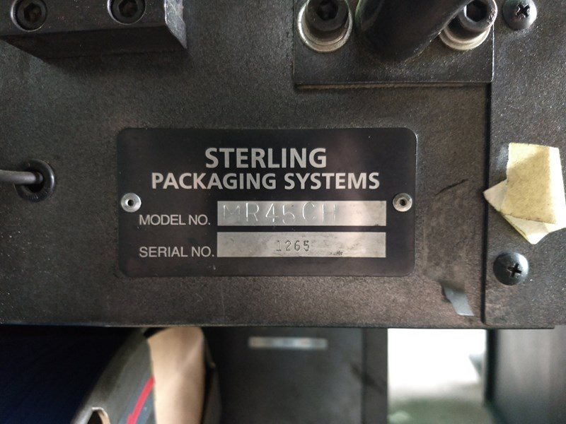 (2x) Sterling Packaging Strappers Model: MR45CH