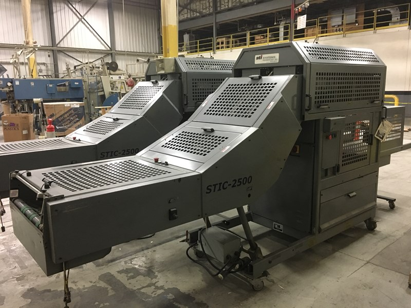 (2x) STIC-2500 Compensating Stackers