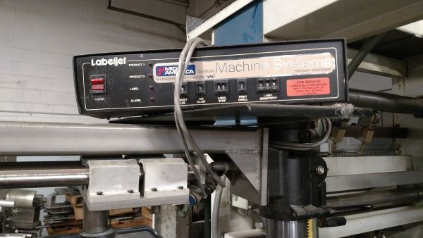 Willett Labeljet Model 2300-45 Label Applicator