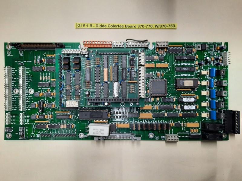 Labels and Form Web Components Didde 860, Viper, VIP Electronics Boards.