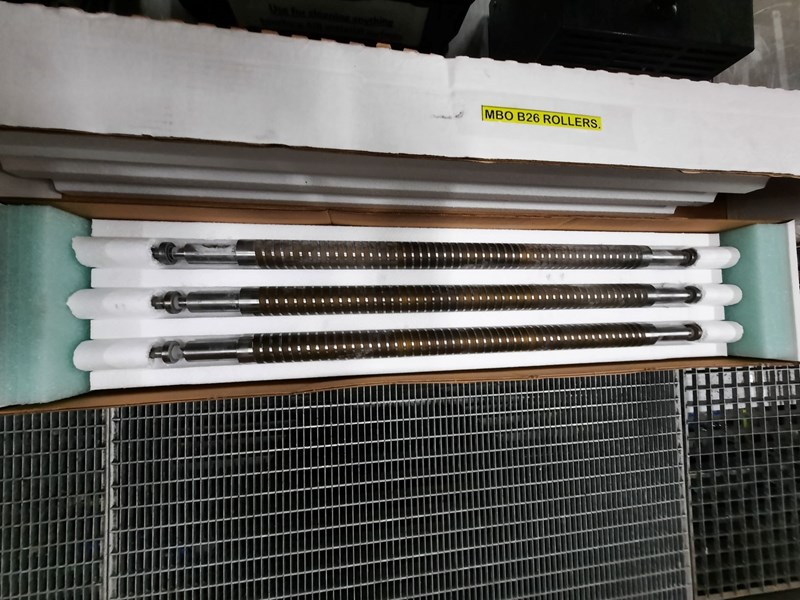 SPIRAL FOLD ROLLERS MBO B26
