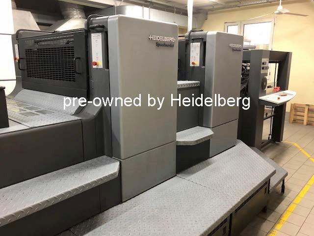 Heidelberg Speedmaster CD 102-LYX Offline Coater