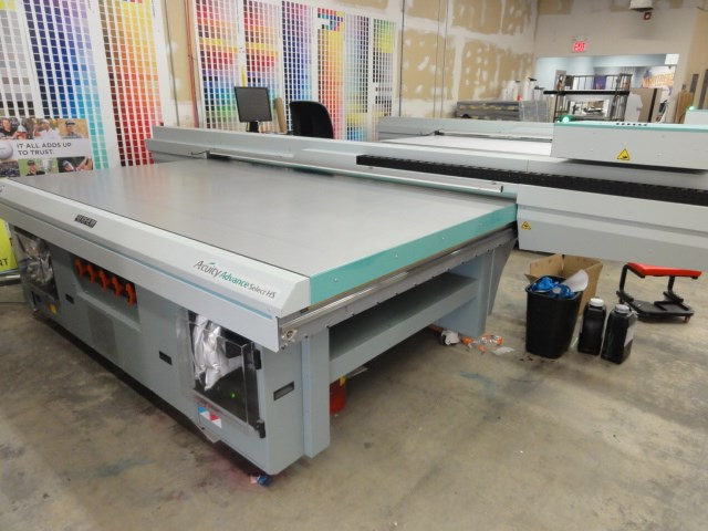 Fuji Acuity Advance Select HS flatbed UV printer