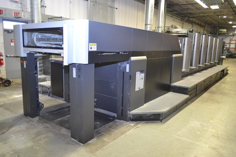 "Heidelberg CD102-5+L 28""x40"" 5/c sheet fed offset printing press ** SALE PENDING **"