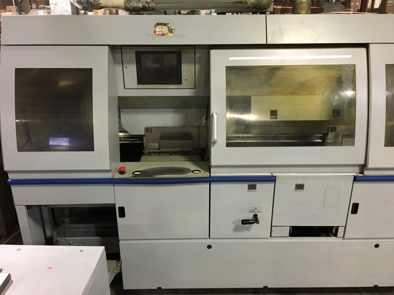 * Sale Pending * Horizon BQ470 automated 4 clamp PUR/EVA perfect binder