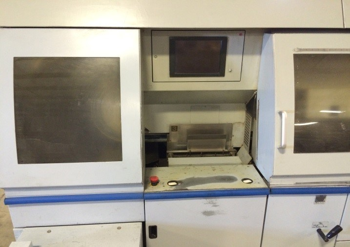 Horizon BQ470 automated 4 clamp PUR/EVA perfect binder