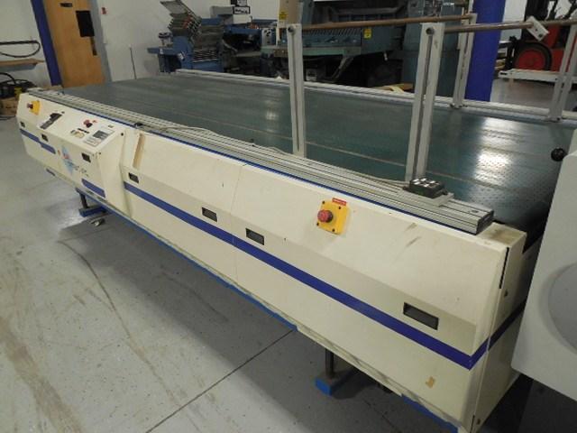 2005 Pack-Smart MVC140-44 vacuum belt mail table