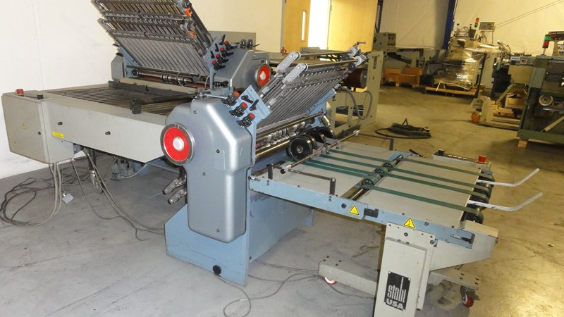Stahl B30 (6) plate continuous feed folder w/ 8 pg. attachment - reconditioned