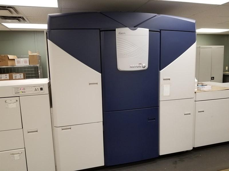 Xerox iGen4 digital printer