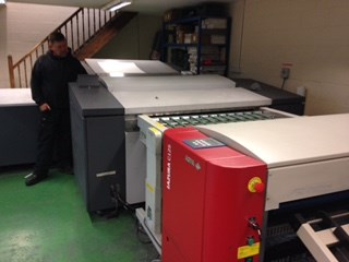 Heidelberg Topsetter (Classic) 102 (Screen PT-R8000) Thermal Automatic B1 8-up with MCL