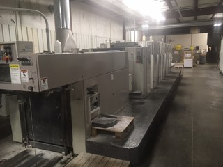 Man Roland 306P+L . 6/c 23x29 plus coater