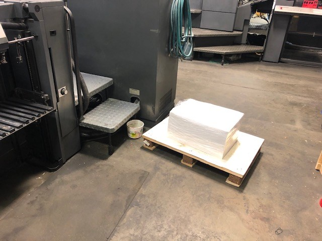 Heidelberg SM 52 4 Plus Coater