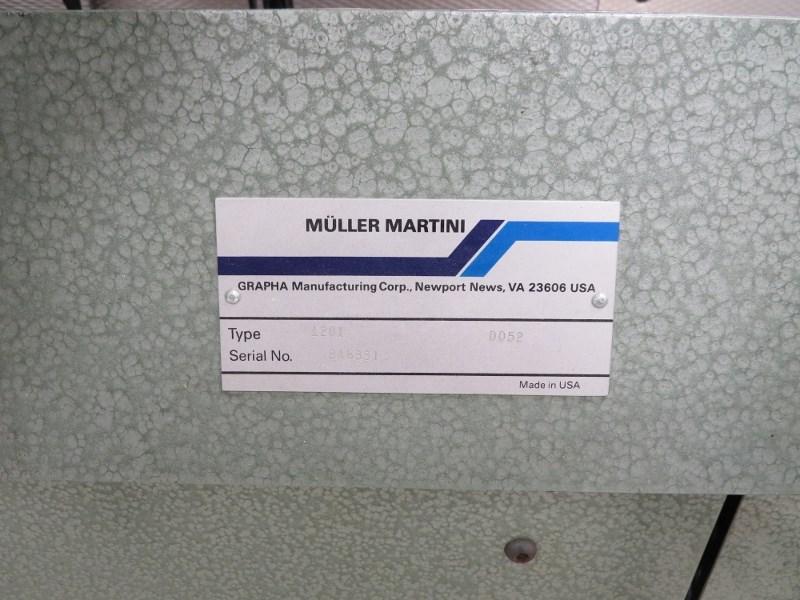 1995 MULLER MARTINI 1530 PANDA BINDER,