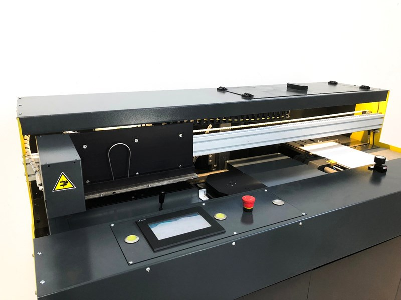 Prontotec Single Clamp Perfect Binding Machine.