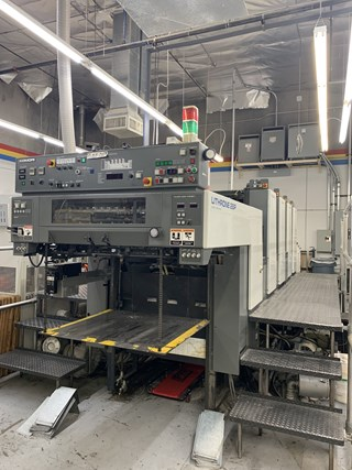 Komori Lithrone L428P - Series 45
