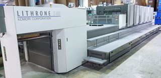 Komori LS640+CX - Fully Automated